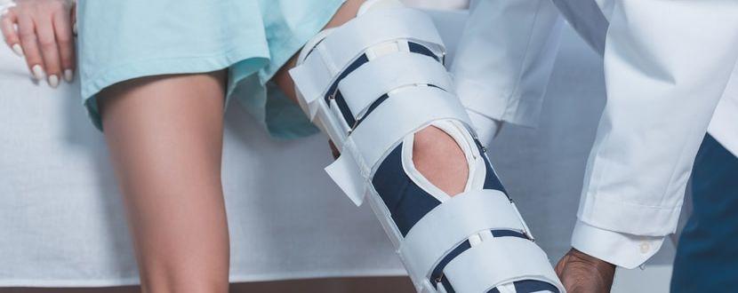 Die Behandlung eines Knochenbruchs im Bein mit CBD