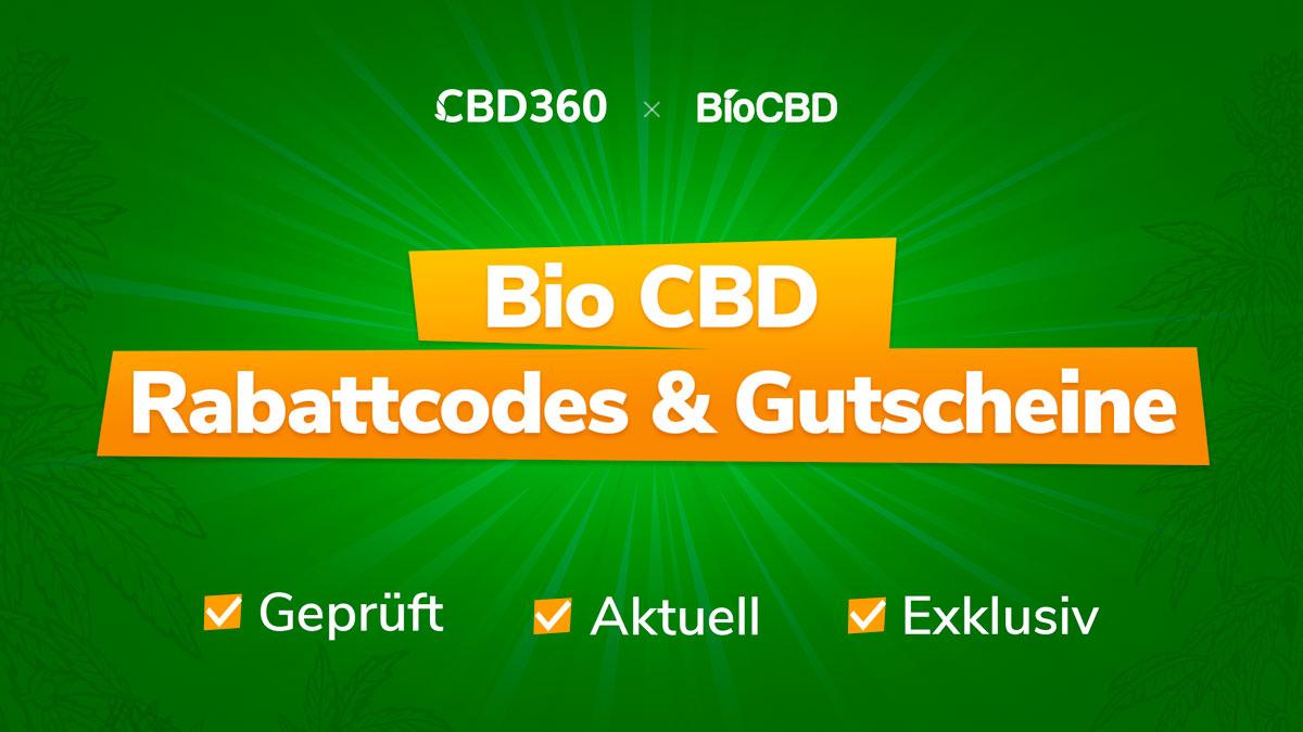 Bio CBD Rabatte & Gutscheine