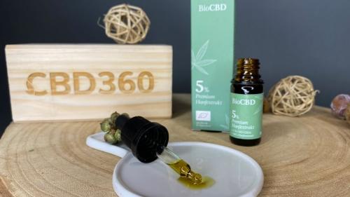 BioCBD CBD Öl 5% farbe