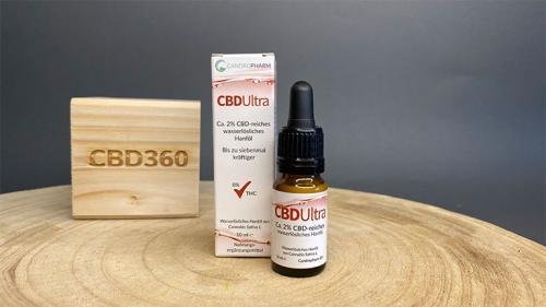 Candropharm CBD Öl Ultra