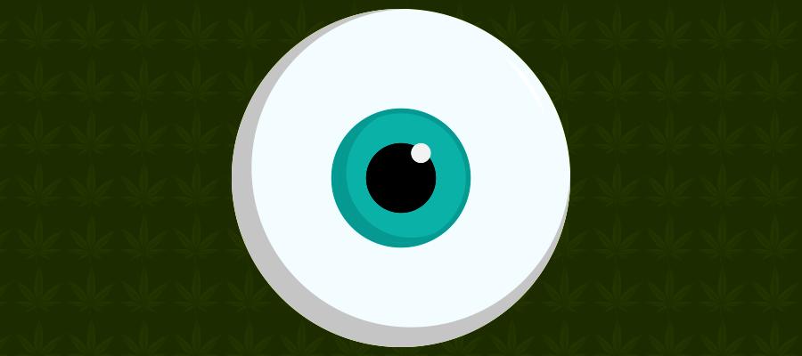 Illustration zu CBD bei Glaukom