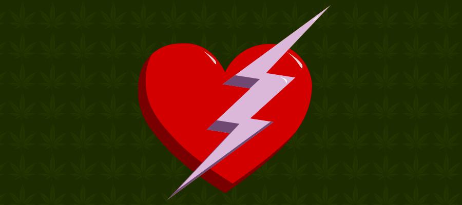 Illustration zu CBD bei Herzrasen