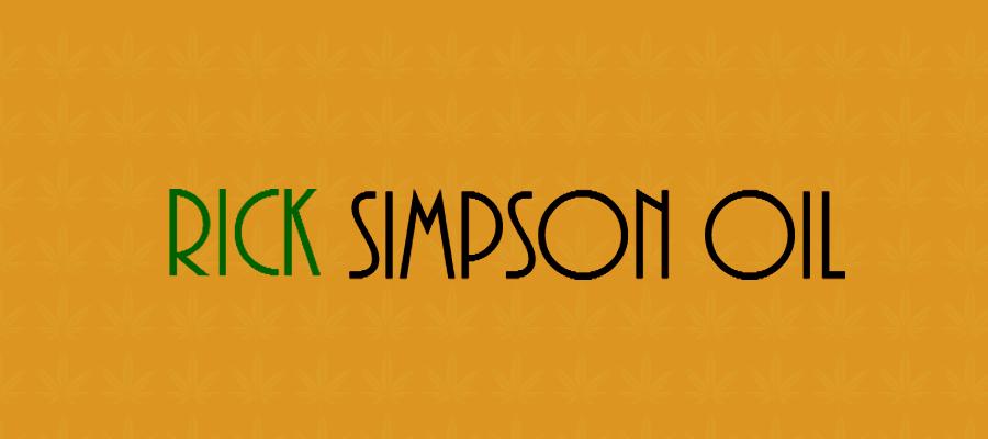 Illustration zum CBD Shop/Marke Rick-Simpson-Oel