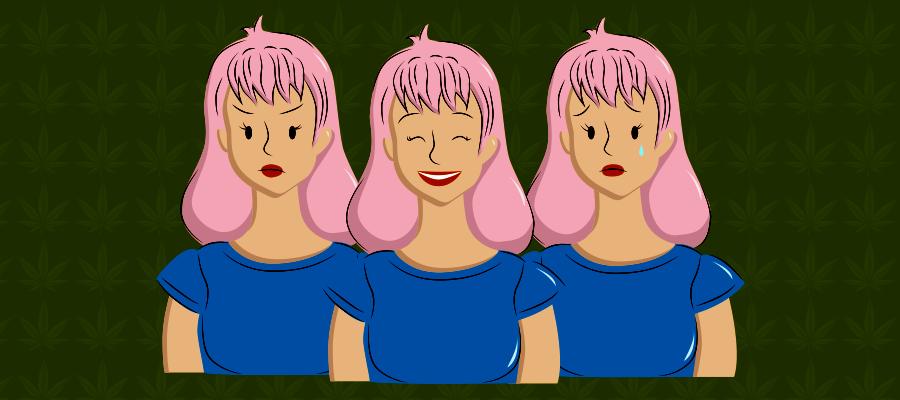 Illustration zu CBD bei Stimmungsschwankungen