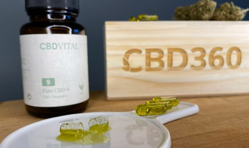 CBD Vital CBD Kapseln Farbe