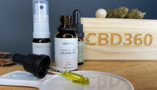 CBD Vital CBD Öl Ursprung Farbe
