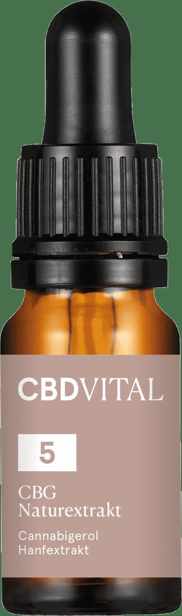 CBD Vital CBG Naturextrakt 5% 10ml