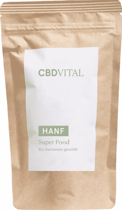 CBD Vital Super Food Bio Hanfsamen