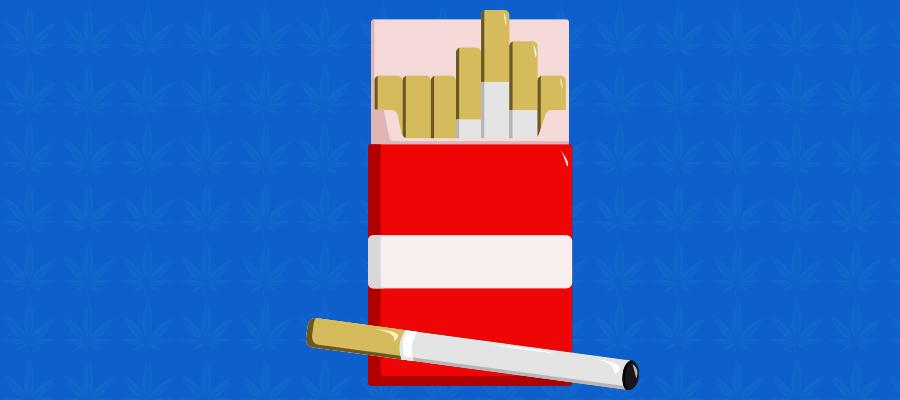 Illustration zu CBD Zigaretten