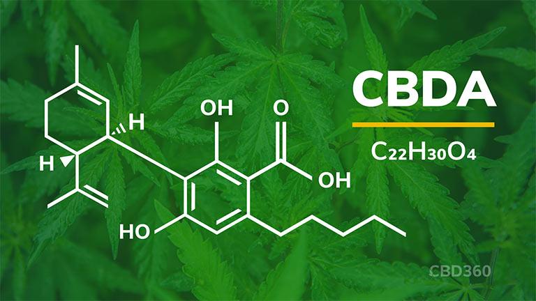 CBDA Strukturformel