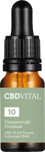 CBD Vital 10% CBD Öl Test