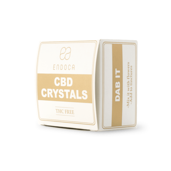 Endoca CBD Kristalle