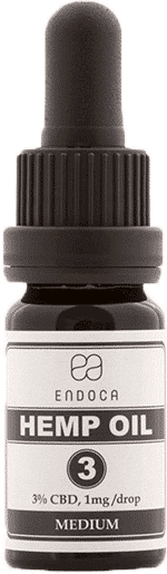 Endoca CBD Öl Hemp Oil 3% 10ml