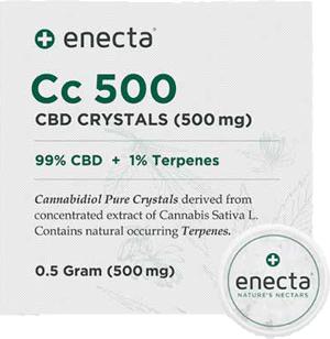 Enecta CBD Kristalle 0,5g + Terpenes