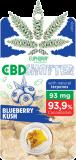 Euphoria CBD Shatter Blueberry Kush