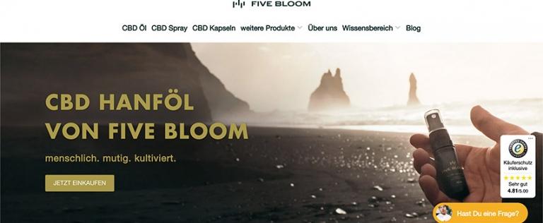 Five Bloom Erfahrungen & Test