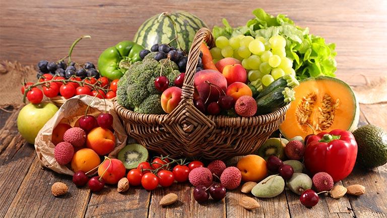 Flavonoide Obst und Gemüse