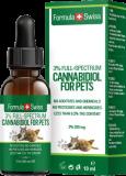 Formula Swiss CBD Öl für Tiere in Olivenöl 3-5% 10ml