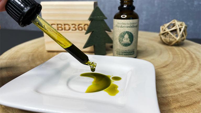 Frankenwald CBD Öl 10% Farbe