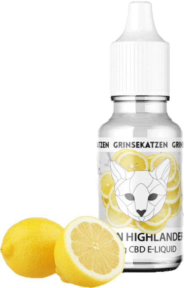 Grinsekatzen CBD Liquid Lemon Haze