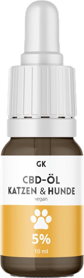 Grinsekatzen CBD Öl für Tiere 5% 10ml