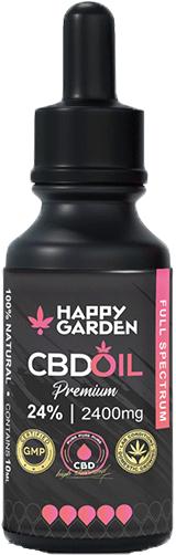 Happy Garden CBD Öl 24% 10ml