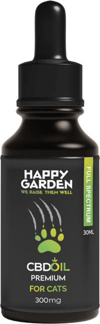 Happy Garden CBD Öl für Tiere für Katzen
