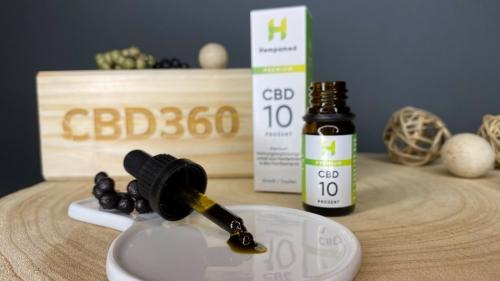 Hempamed CBD Öl 10% 10ml Farbe