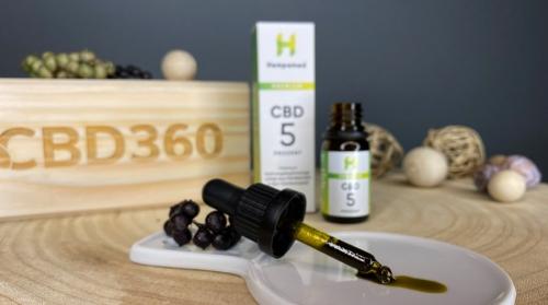 Hempamed CBD Öl 5% 10ml Farbe