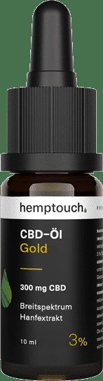 Hemptouch CBD Öl Gold 3% 10ml