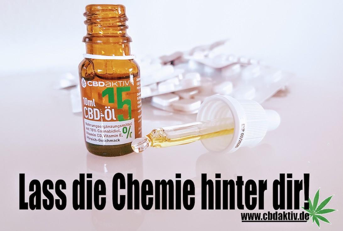 Versuchen Sie das CBD-Öl ganz ohne Chemie