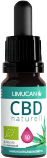 Limucan 10% CBD Öl Test