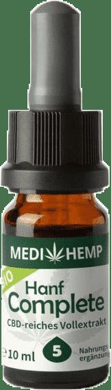 Medihemp CBD Öl Complete 5% 10ml