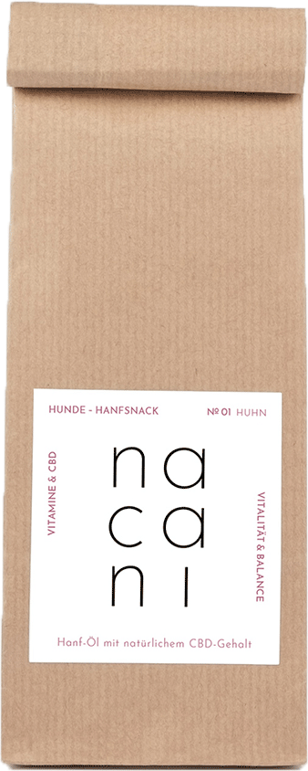 Nacani CBD Hunde Snacks mit Huhn