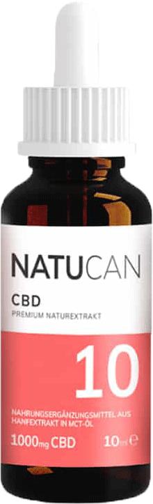 Natucan CBD Öl 10% 10ml