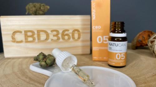 Natucan CBD Öl 5% 10ml Farbe