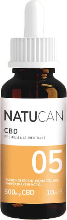 Natucan CBD Öl 5% (10ml)