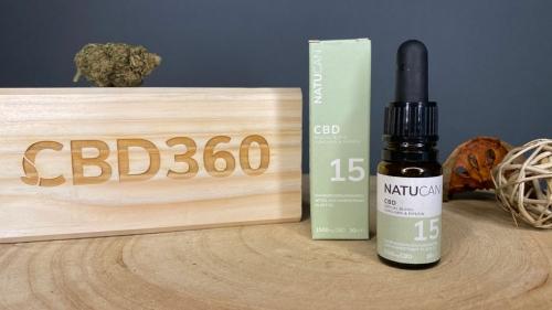 Natucan CBD Öl Curcumin und Piperin