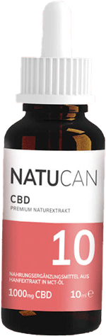 5% CBD Öl Natucan: vollspektrum und THC-frei