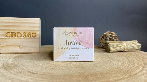 Nordic Cosmetic CBD Anti-Aging Creme Brave