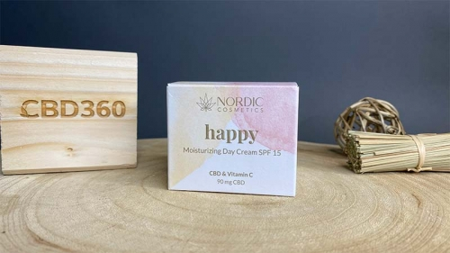 Nordic Cosmetic CBD Day Creme Happy