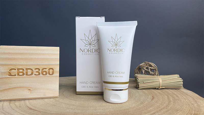 Nordic Cosmetics CBD Handcreme