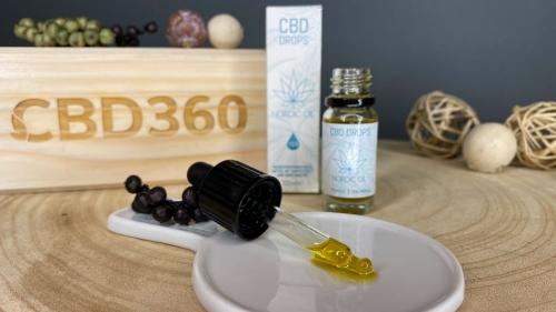 Nordic Oil CBD Öl 15% Farbe