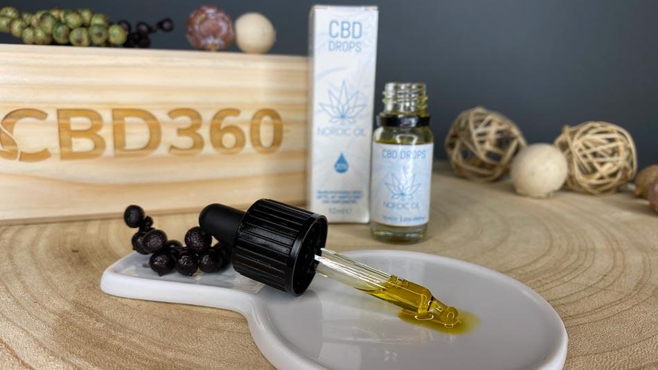 Nordic Oil CBD Öl Farbe