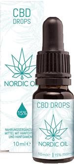 Nordic Oil 15% CBD Öl Test