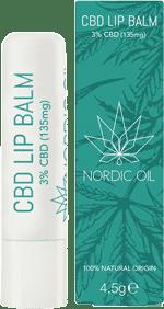 Nordic Oil CBD Kosmetik Lip Balm 3%