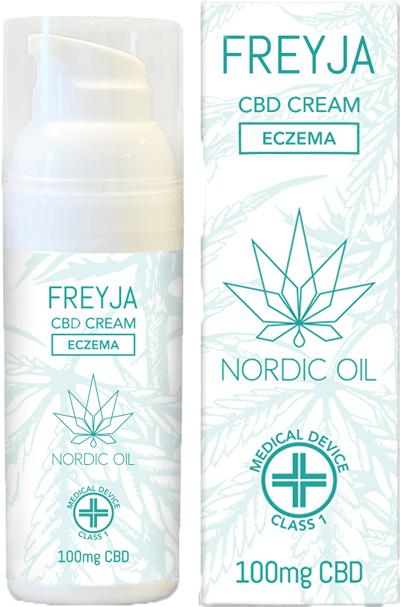 Nordic Oil Freyja CBD Cream