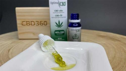 Optima CBD Öl 10% Farbe