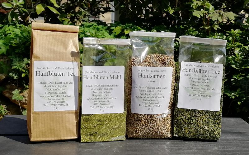 Unsere Erfahrungen mit den Münsterland Hanf Produkten