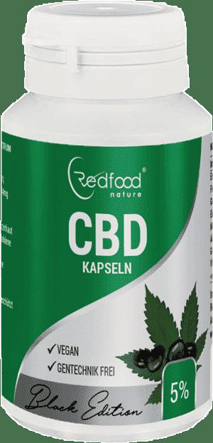 Redfood CBD Kapseln 5%